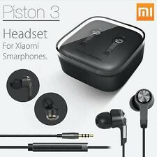 Xiaomi Mi Piston 3 In EAR Headphones V3 Black-  Red Dot Design Headset Handsfree