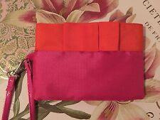 Pink/Orange Clutch Wristlet Pouch Bag Purse BRAND NEW Never Used!!
