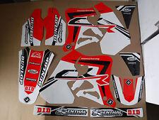 Honda CR 125 95-97 CR 250 95-96 FLU PTS3 Graphics Sticker Decals Kit Motocross