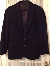 Charles Klein Black 100% Camel Hair Blazer Size 40 R sportscoat jacket