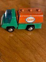 Vintage Playart Esso Oil Gasoline Tanker Truck 1/64 Diecast Hong Kong