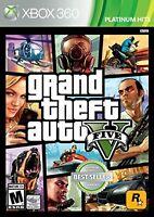 Grand Theft Auto V GTA 5 GTA For Xbox 360 Very Good 5Z