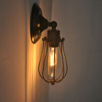 Wall Sconce Lighting Metal Industrial Wall Light Shade Vintage Style Wall Light