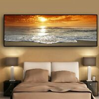 Sea Beach Landscape Posters Prints Canvas Painting Canvas Wall Art Wall Pictures