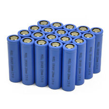 20x ICR 18650 Li-ion Rechargeable Battery 3.7V 2200mAh Batteries Cell PKCELL