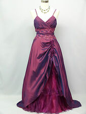 Cherlone Lila Hochzeit Ballkleid Brautkleid Abendkleid Brautjungfer Kleid 40