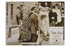 CHARLIE CHAPLIN ~ KID LOBBY CARD MOVIE POSTER Charles