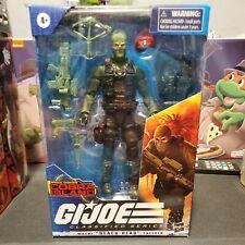 Hasbro GI Joe Classified Cobra Island - Wayne Beach Head Sneeden Blue Eyes RARE