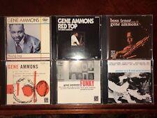 Gene Ammons jazz tenor 6CD LOT: Savoy, Chess, Prestige