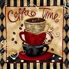 5D Diamond Painting Full Drill Embroidery Cross Stitch Kit Coffee Time Art Decor