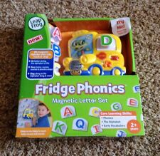 NEW In BOX Leapfrog Fridge Phonics - BUS - Magnetic Letter Set Alphabet SEE SHIP