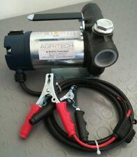 Pompa elettrica 12 v 40 L/min travaso gasolio
