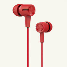 UiiSii U7 RED In-Ear Earphone Headset Stereo with Mic 3.5mm Earphone