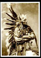 ⫸ 929 Postcard LITTLE HORSE, Oglala Sioux Chief – 1899 Photo George Heyn