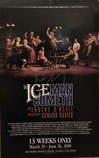 Kevin Spacey Signed THE ICEMAN COMETH Broadway Poster Windowcard