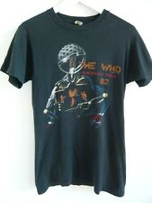 THE WHO 1982 original vintage concert t shirt