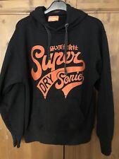 Superdry Black Hoodie Size M Mens/ladies