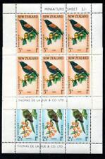 New Zealand B63-64 NH, souvenir sheet, bird