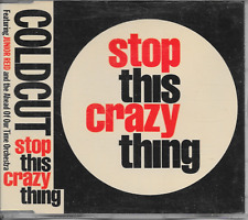 COLDCUT - Stop this crazy thing CD SINGLE 3TR House 1988 (INDISC) Belgium