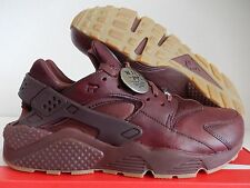 NIKE AIR HUARACHE ID WILL PREMIUM LEATHER CEDAR BROWN SZ 11.5 [918438-991]