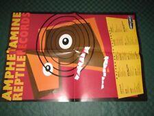 Amphetamine Reptile Records / European Catalogue - Promo Poster - A2 Format