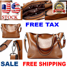 Women Leather Handbag Shoulder Ladies Purse Satchel Messenger lady Tote Bag