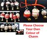 Chinese Japanese Lucky Maneki Neko Bell Porcelain Cat Mobile Phone Bag Zip Charm