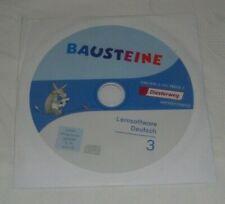 Bausteine 3 Lernsoftware Deutsch CD-ROM, gut zum üben 3 Klasse Grundschule