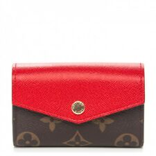 LOUIS VUITTON SARAH MULTICARTES MONOGRAM / RED NIB - SOLD OUT