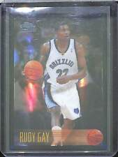 2006-07 Topps Chrome 1996-97 Reprint Rookie Black Refractor #184 Rudy Gay