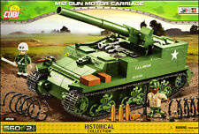 COBI M12 Gun Motor Carriage (2531) - 560 elem. - WWII US self-propelled gun