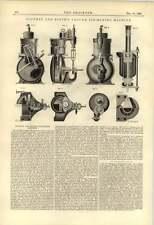 Diseño de plan de exposición 1888 PARIS 1889 máquina de vacío icemaking Southby Blyth