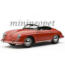 AUTOart 77864 PORSCHE 356A SPEEDSTER EUROPEAN VERSION 1/18 MODEL CAR RED