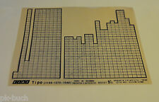 Microfich Ersatzteilkatalog Fiat Tipo (1100 - 1370 - 1580) 60331811