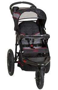 Baby Trend Range Jogging Stroller, Millennium Gray, GENUINE PRODUCT