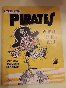 PITTSBURGH PIRATES 1960 WORLD SERIES PROGRAM