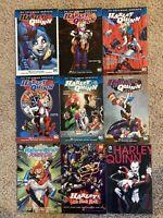 TPB Harley Quinn Graphic Novel Lot Rebirth Omnibus Vol 1 2 3 4 5 6 Batman Comics