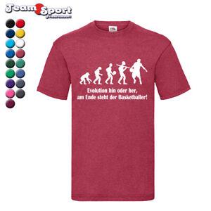Evolution Basketball Aufwärmshirt in 17 Farben / Training Schule Funshirt