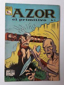 AZOR EL PRIMITIVO #15 - ORIGINAL COMIC IN SPANISH - MEXICO - LA PRENSA