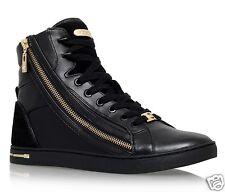Michael Kors Turnschuhe/Sneaker Glam Essex Leather Schwarz  Gr.37 Neu!