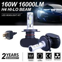 2x H4 CREE LED Headlight Car 9003 HB2 1800W 6500K Replace Hi/Lo Beam Bulb Lamp W