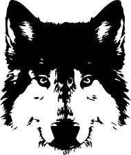 Wolf vinyl decal sticker for car/truck laptop window custom