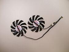 75mm Dual-X Fan for Sapphire HD7790 7850 Powercolor HD7870 Video Card FD7010H12S