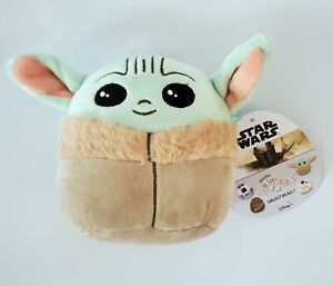 Squishmallows STAR WARS MANDALORIAN THE CHILD BABY YODA 5in. Plush - New!