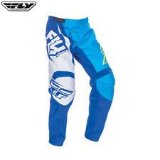 Pantalons de cross bleus en polyester