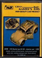 CMK CZECH MASTER'S KITS 3008 - VW BEETLE TYP 92 SS - INTERIOR SET 1/48 RESIN KIT