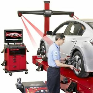 Hunter Hawkeye Vehicle Tracking Laser Four Wheel Alignment System West Midlands