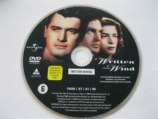 WRITTEN ON THE WIND starring Rock Hudson - DISC ONLY {DVD}