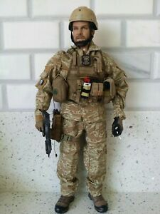 1/6 Soldier Story chest rig, drop leg holster  MP7 Mini times body  PMC Kitbash