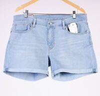 Levi's Vintage Soft Mid Length Short hellblau Damen denim shorts Größe 33 W33